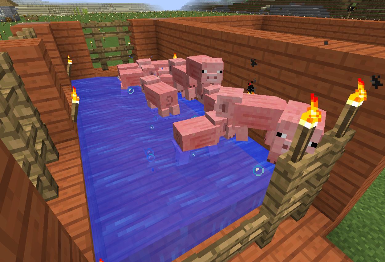 親豚保護型牧場を作りました