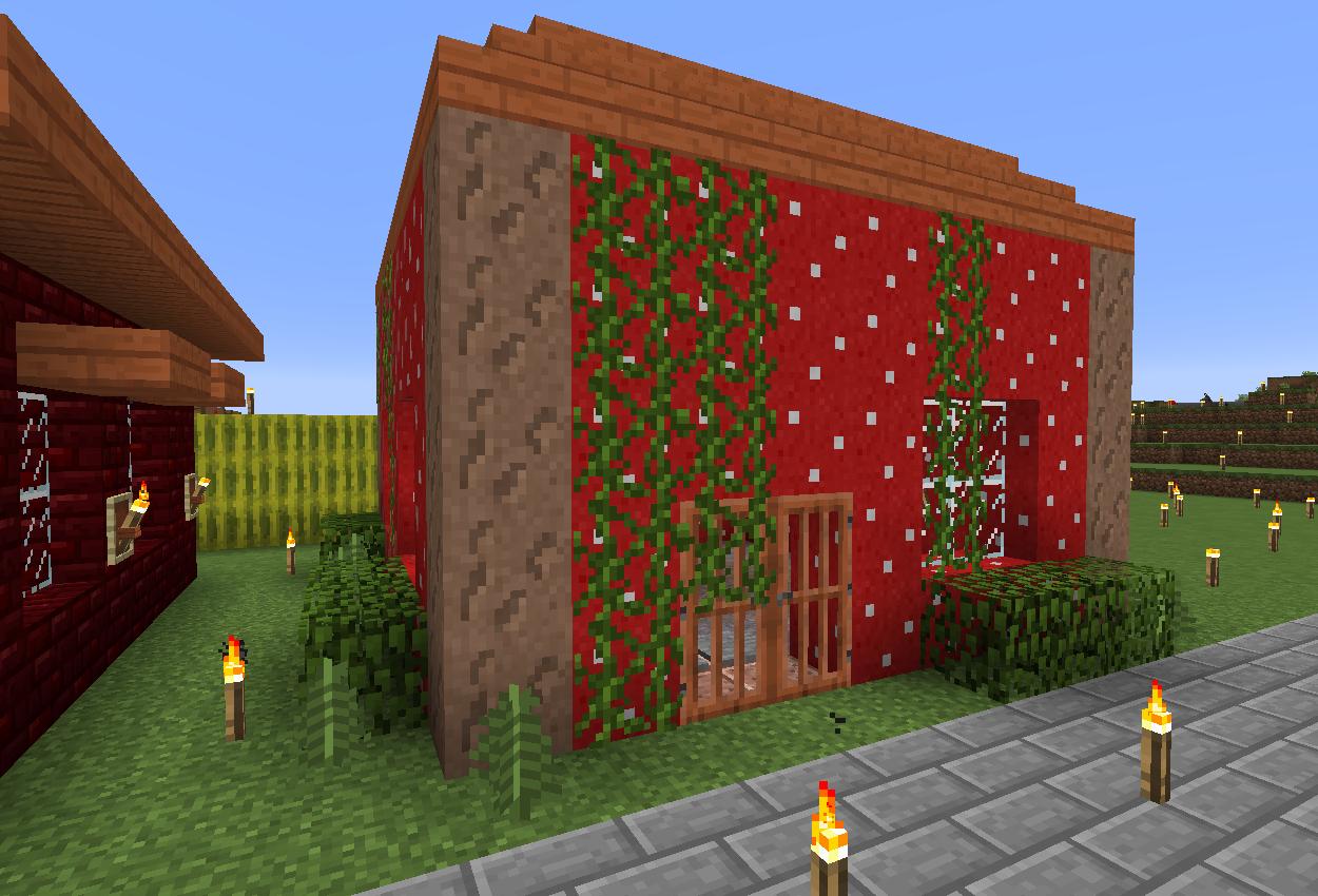 キノコ栽培小屋作りました