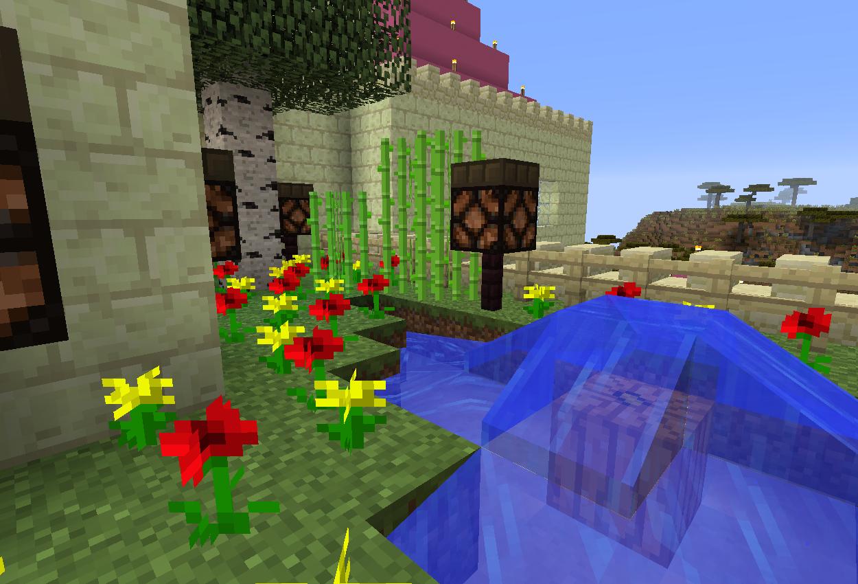 お城のバルコニーを作る