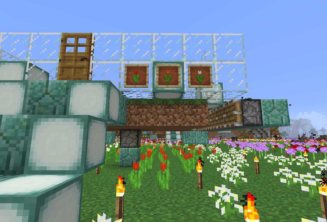 花の森に自動お花栽培機を作る