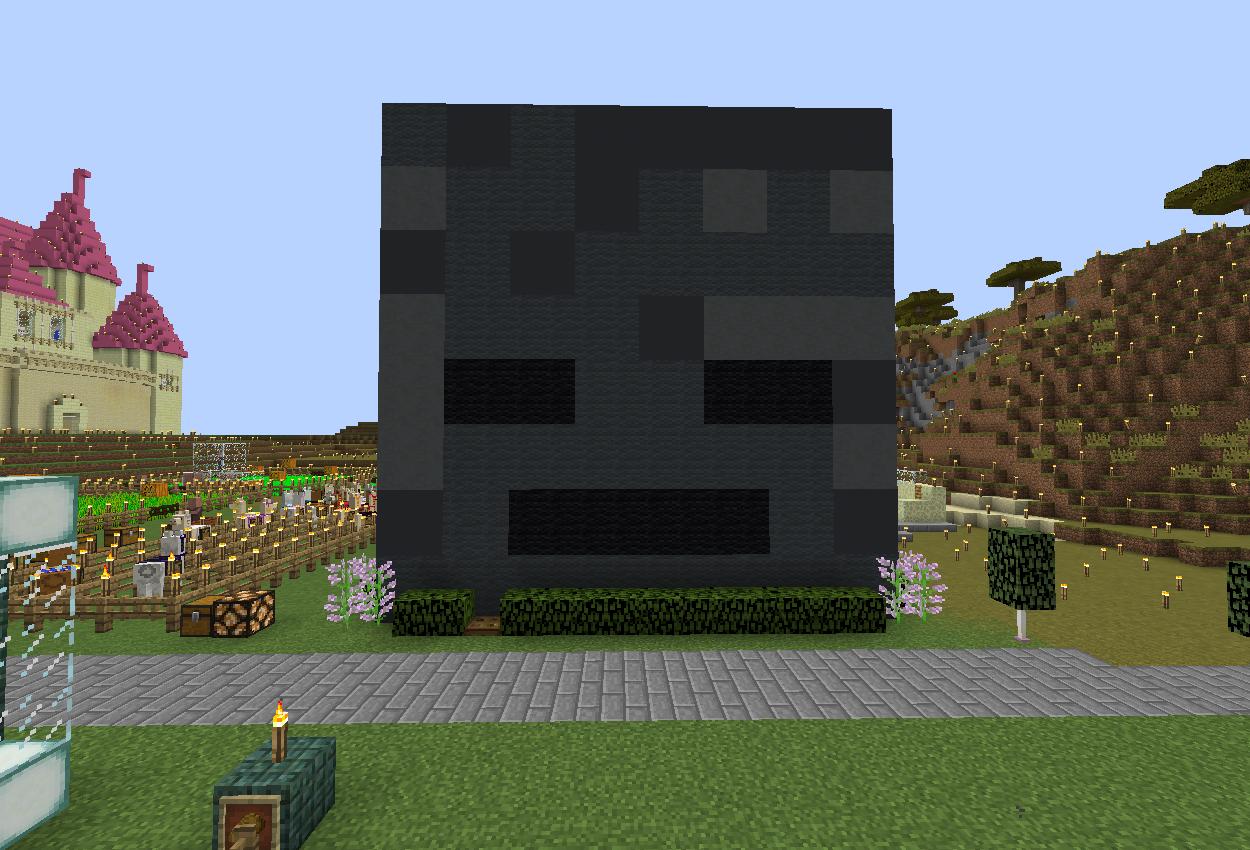 コマンドでウィザー専用ハウス作りました