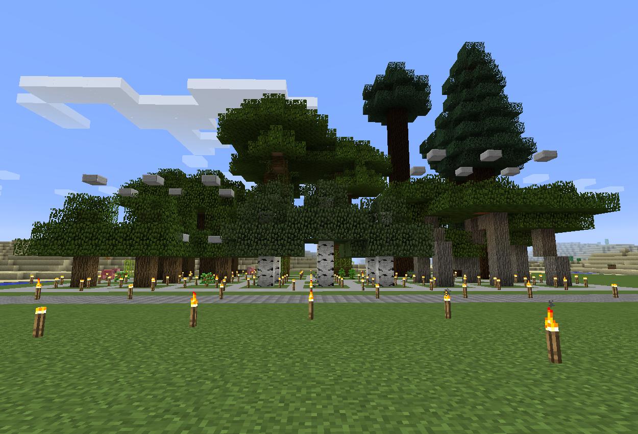植林場を作る!植え方切り方のコツなど