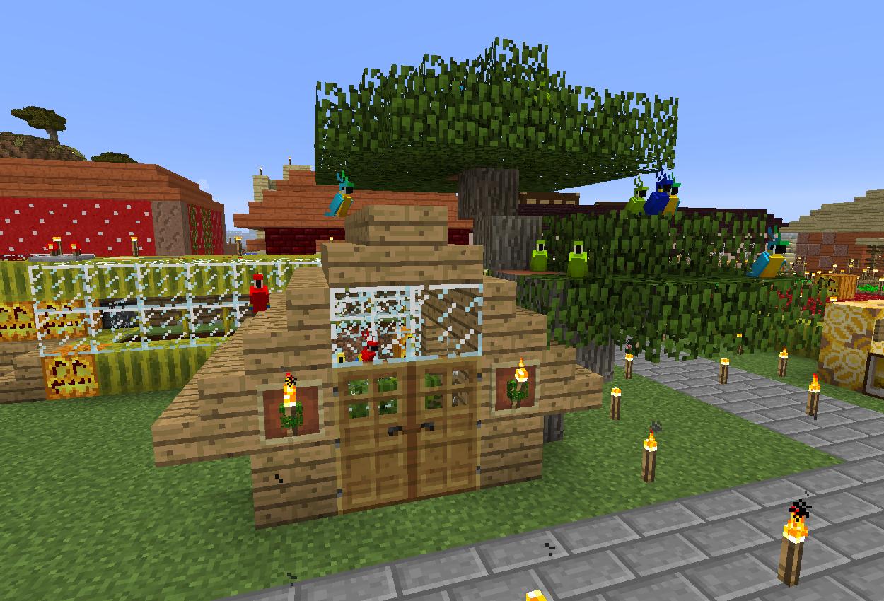 鳥小屋作りました
