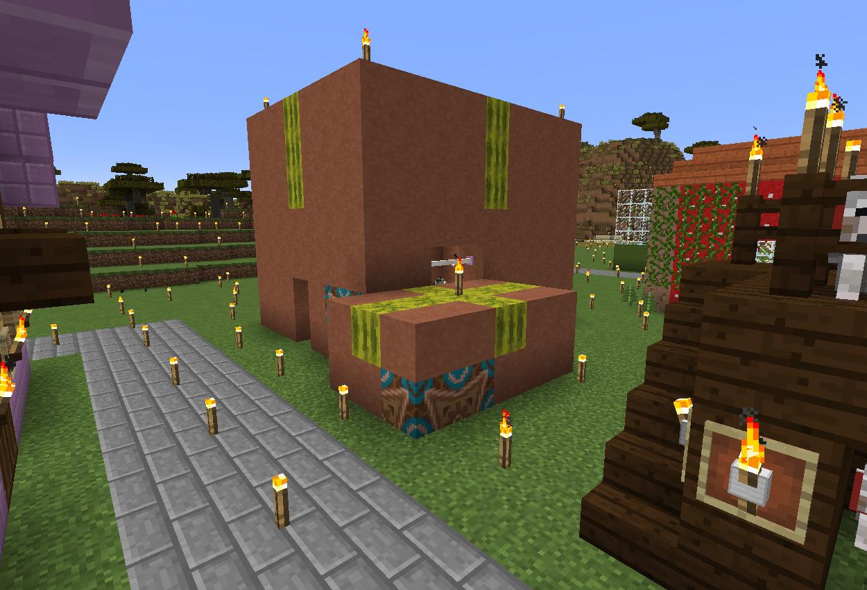 ネコのダンボールハウス