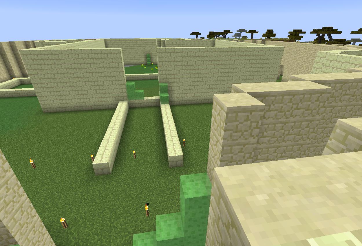 お城を作ってみようかな
