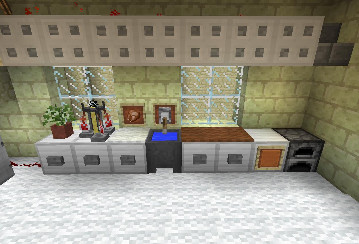 お城に厨房(キッチン)を作る