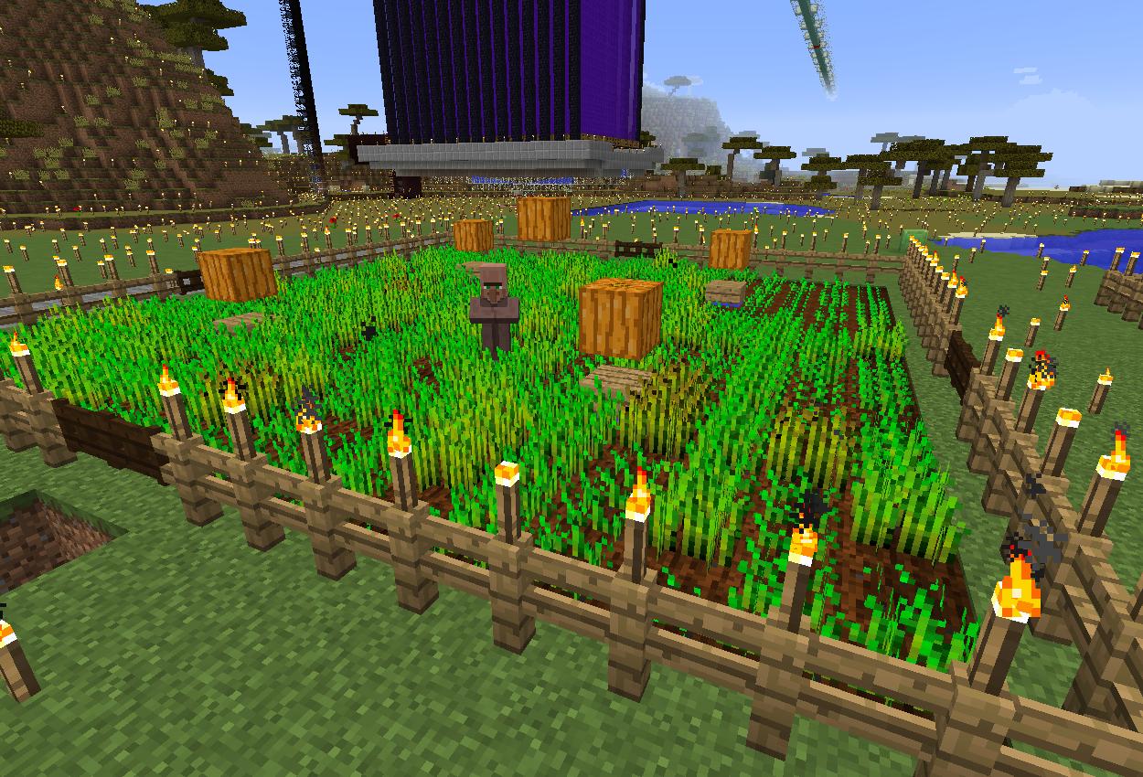 村人使役形全自動小麦畑