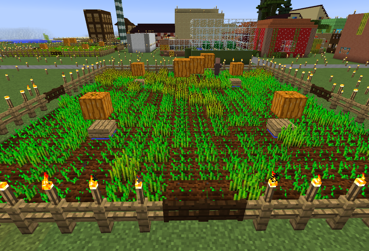 村人式自動小麦畑で農民が働かない!原因と対策