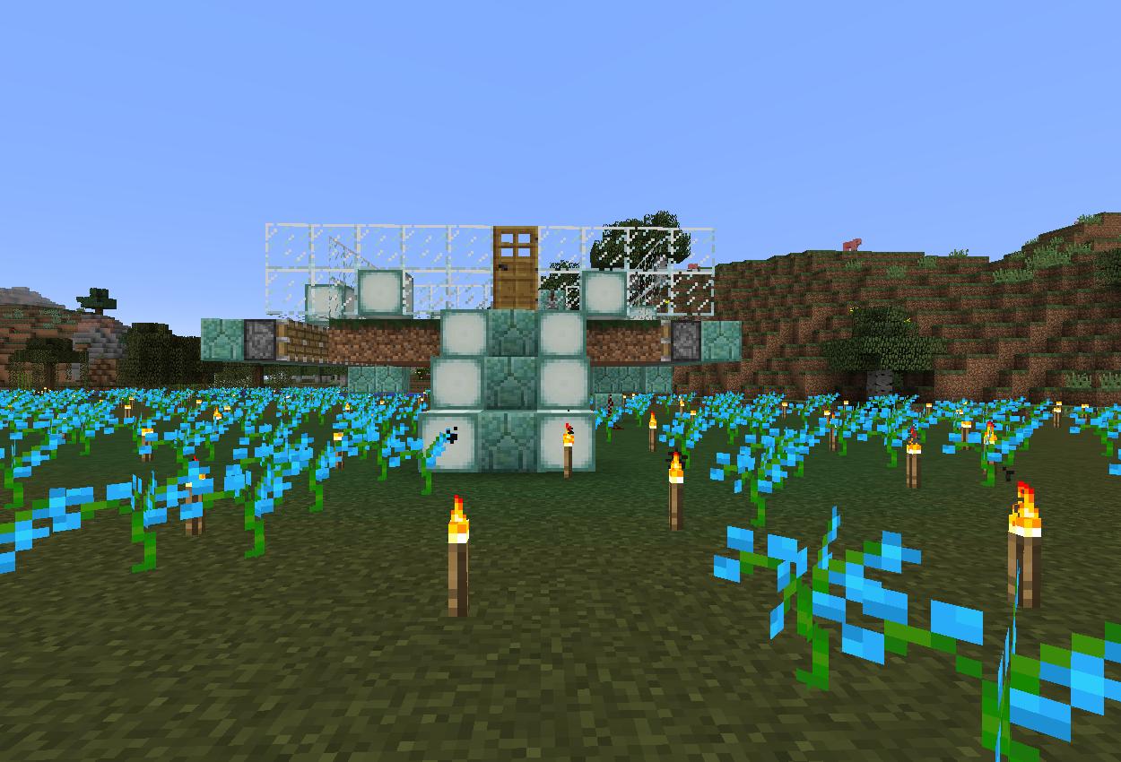 湿地にヒスイランの自動お花栽培機を作る