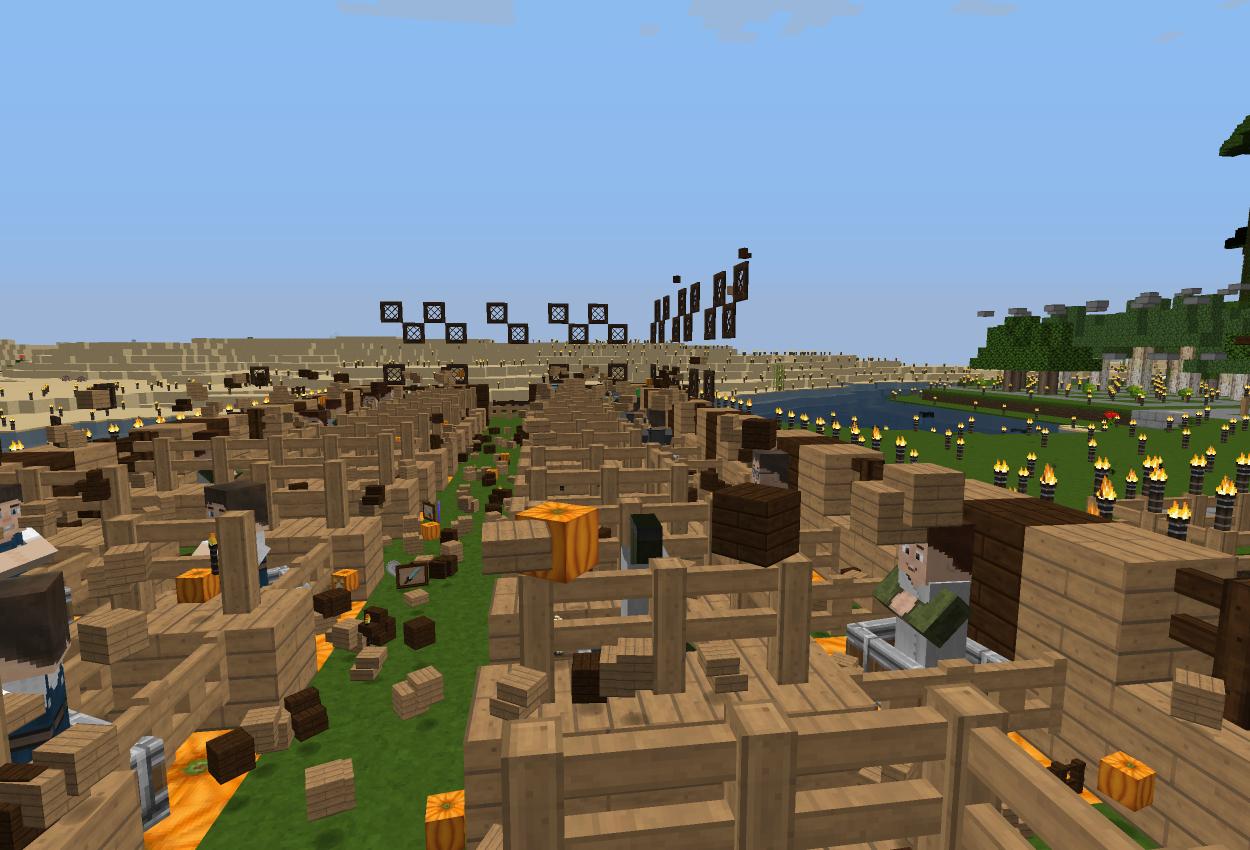 高床式村人無限増殖!に改築&村人ハウスをfillで…