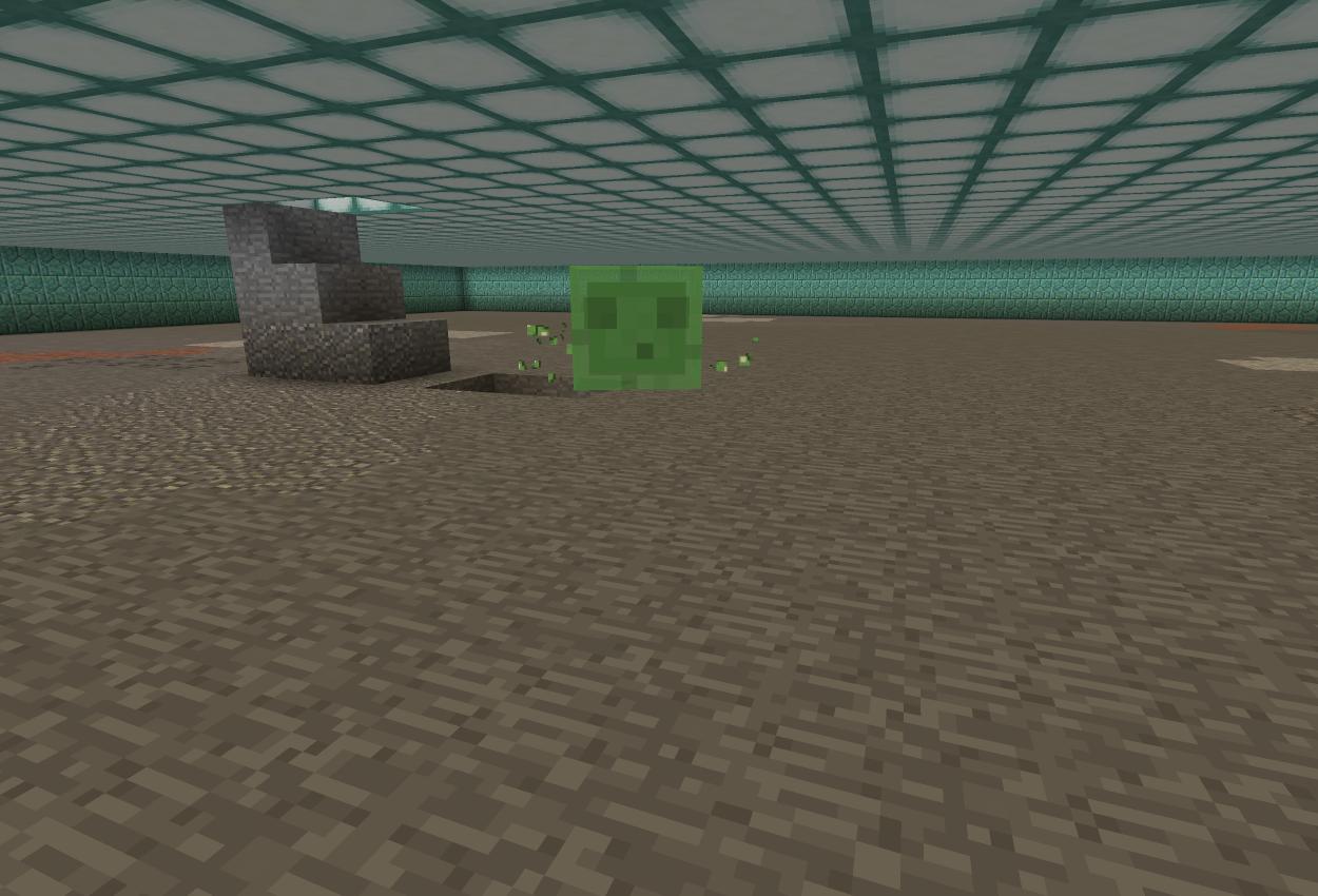 海底神殿に地下室を作る