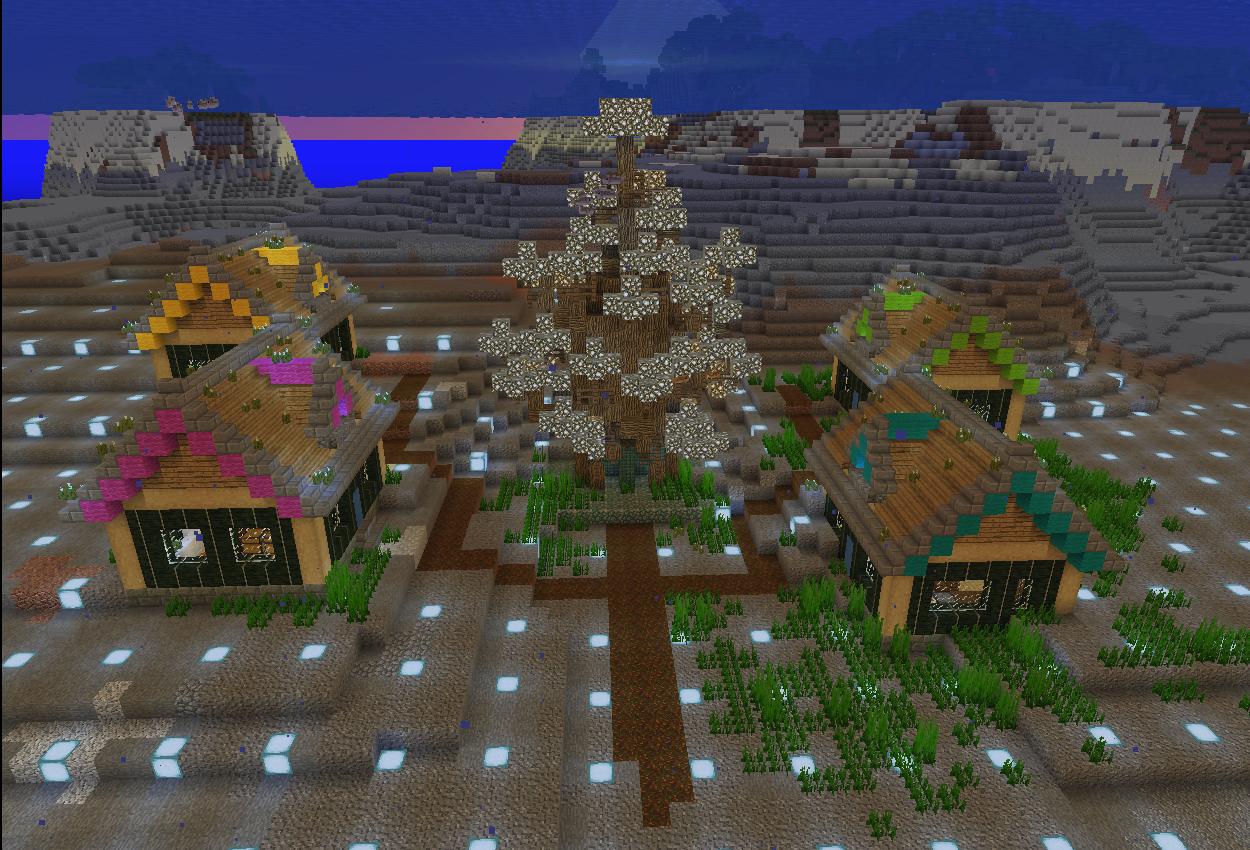 海底に家を量産しました